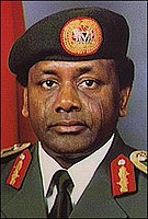 Sani Abacha ruled Nigeria from 1993 to 1998.