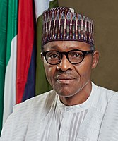 Muhammadu Buhari is currently serving as President of Nigeria, since 2015.