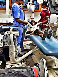 A dentist's office in Lagos
