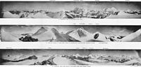 Mount Everest panoramas, taken on the 1921 expedition