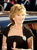 Fonda at the premiere of Promise Me This at the Cannes Film Festival in 2007