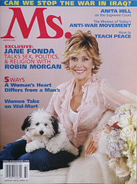 Fonda on the cover of Ms. magazine in 2006