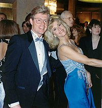 Fonda and photographer Alan Light following the 62nd Academy Awards in March 1990