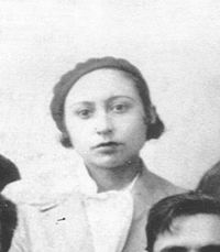 Spanish Anarcha-feminist and lesbian Lucía Sánchez Saornil, co-founder of Mujeres Libres and socialist libertarian figure of Spanish Revolution of 1936.