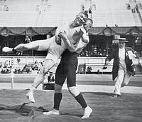 Martin Klein and Alfred Asikainen, whose wrestling bout lasted for 11 hours and 40 minutes