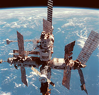 Soviet and Russian space station Mir