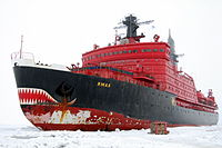 Yamal, one of Russia's nuclear-powered icebreakers