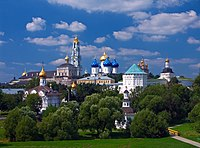 Trinity Lavra of St. Sergius, spiritual centre of the Russian Orthodox Church and UNESCO World Heritage site