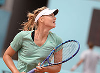 Maria Sharapova, former world No. 1 tennis player; and the world's highest-paid female athlete 11 consecutive years.