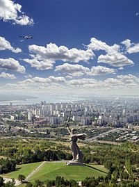 The Motherland Calls in Volgograd is the tallest statue of a woman in the world (not including pedestals)