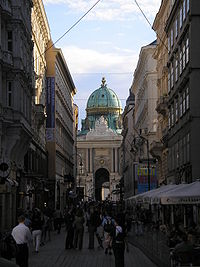 View of Hofburg