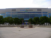 Vivint Arena has been the home of the Utah Jazz since 1991.