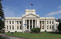 The St Kilda Town Hall and its Victorian public gardens