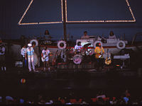 Performing a concert in 1978