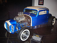 The 1932 Ford that appeared on the cover to the platinum certified album Little Deuce Coupe