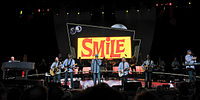 """Reunited in 2012, performing """"Heroes and Villains"""" in tribute to Smile"""