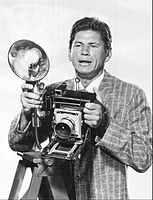 Bronson in Man with a Camera, 1959