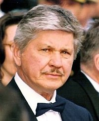 Bronson at the 1987 Cannes Film Festival