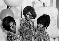 Ross with the Supremes in 1967