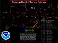 Late December 2012 North American storm complex