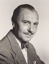 Co-director and co-star: Ralph Richardson in the 1940s