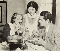 Olivier, with his first wife Jill Esmond (left), in 1932