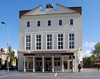 The Old Vic (photographed in 2012), where Olivier honed his skill as a Shakespearean