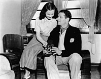 Olivier with Leigh in Australia, 1948