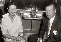 Olivier and Leigh in 1957