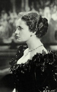 Peggy Ashcroft, a contemporary and friend of Olivier's at the Central School of Speech Training and Dramatic Art, photographed in 1936
