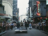 Richard Nixon in New Orleans August 1970 - Royal at Iberville Streets heading to Canal Street.