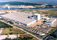 Aerial view of NASA's Michoud Assembly Facility