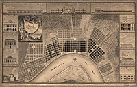 Plan of the city and suburbs of New Orleans: from a survey made in 1815