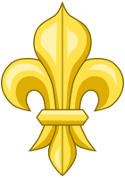 The fleur-de-lis is often a symbol of New Orleans and its sports teams.