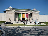 The New Orleans Museum of Art (NOMA) located in City Park