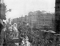 New Orleans Mardi Gras in the early 1890s.