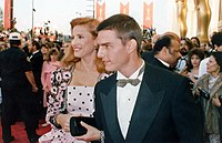 Cruise and Mimi Rogers at the 1989 Oscars