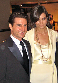 Cruise with then-wife Katie Holmes in May 2009