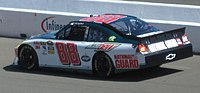 Earnhardt during the 2010 Toyota/Save Mart 350