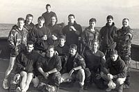 Members of SEAL Team 4 immediately before the start of Operation Just Cause
