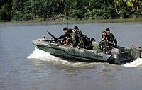 SEALs on patrol in the Mekong Delta