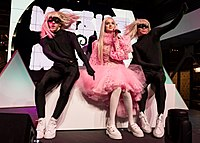 Poppy performing live at YouTube Space in Los Angeles