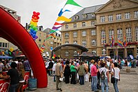 The 2011 Gaymat Festival in Luxembourg City