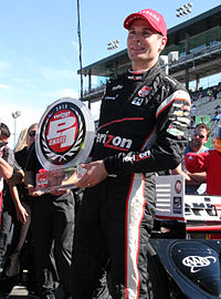 Power won the Verizon P1 Award for taking the pole at the 2015 GoPro Grand Prix.