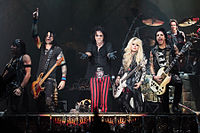 Alice Cooper band performing live in London in 2012