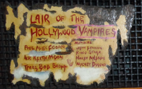 In the 1970s, Cooper founded a celebrity drinking club, the Hollywood Vampires, headquartered at the Rainbow Bar and Grill in West Hollywood.