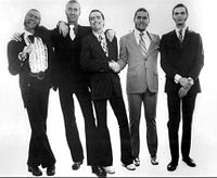 The group in 1973