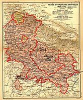 Uttarakhand as a part of the Ceded and Conquered Provinces