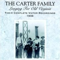 Longing for Old Virginia: Their Complete Victor Recordings (1934)