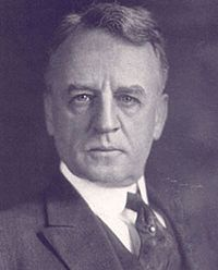 Dwight Morrow, U.S. ambassador to Mexico, who helped mediate the end of the Cristero War